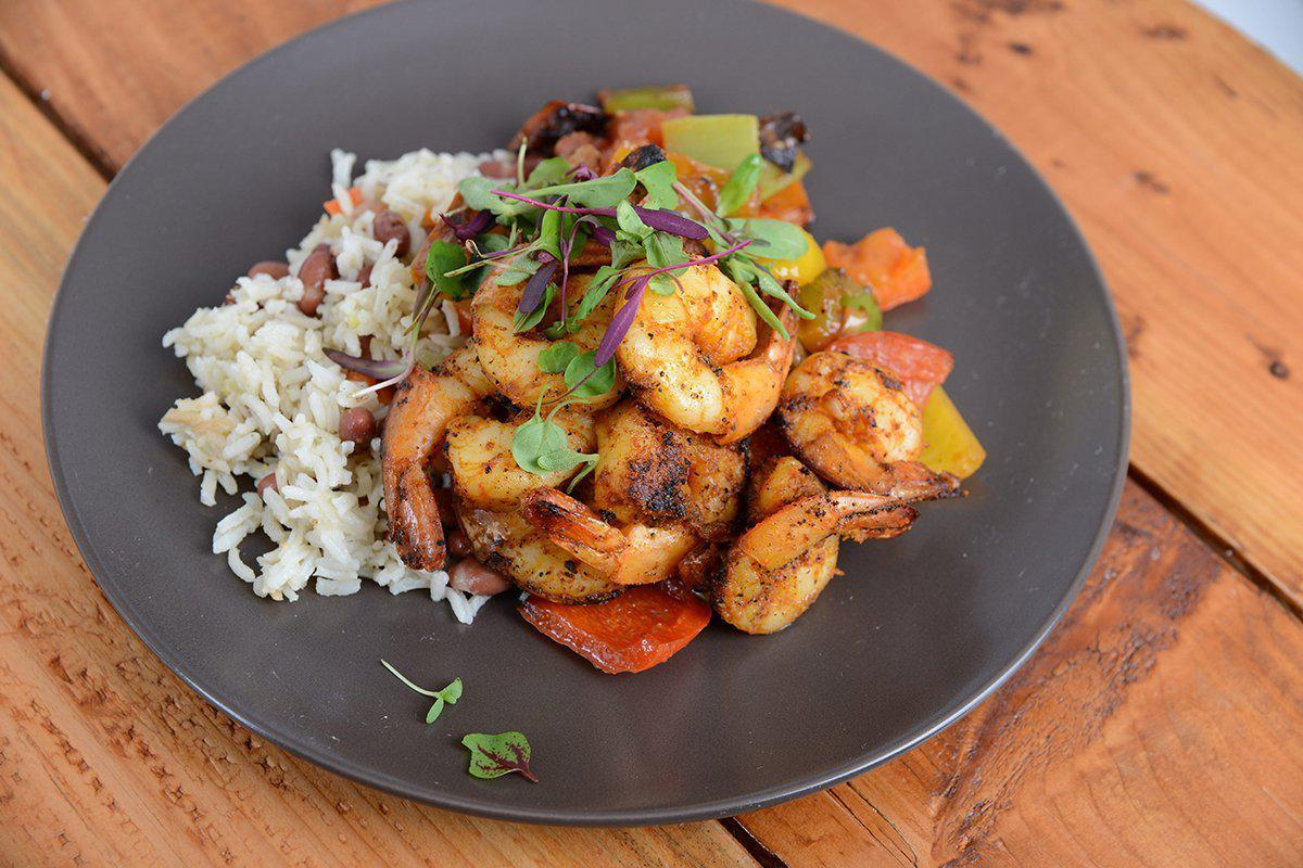 Blackened Shrimp Jambalaya