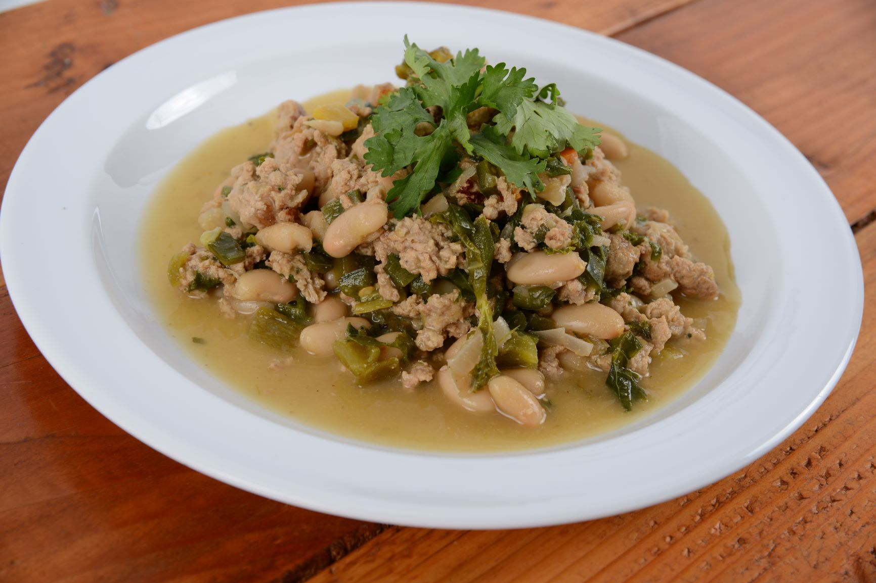 Poblano White Bean Turkey Chili (Thursday 4/22 Delivery)