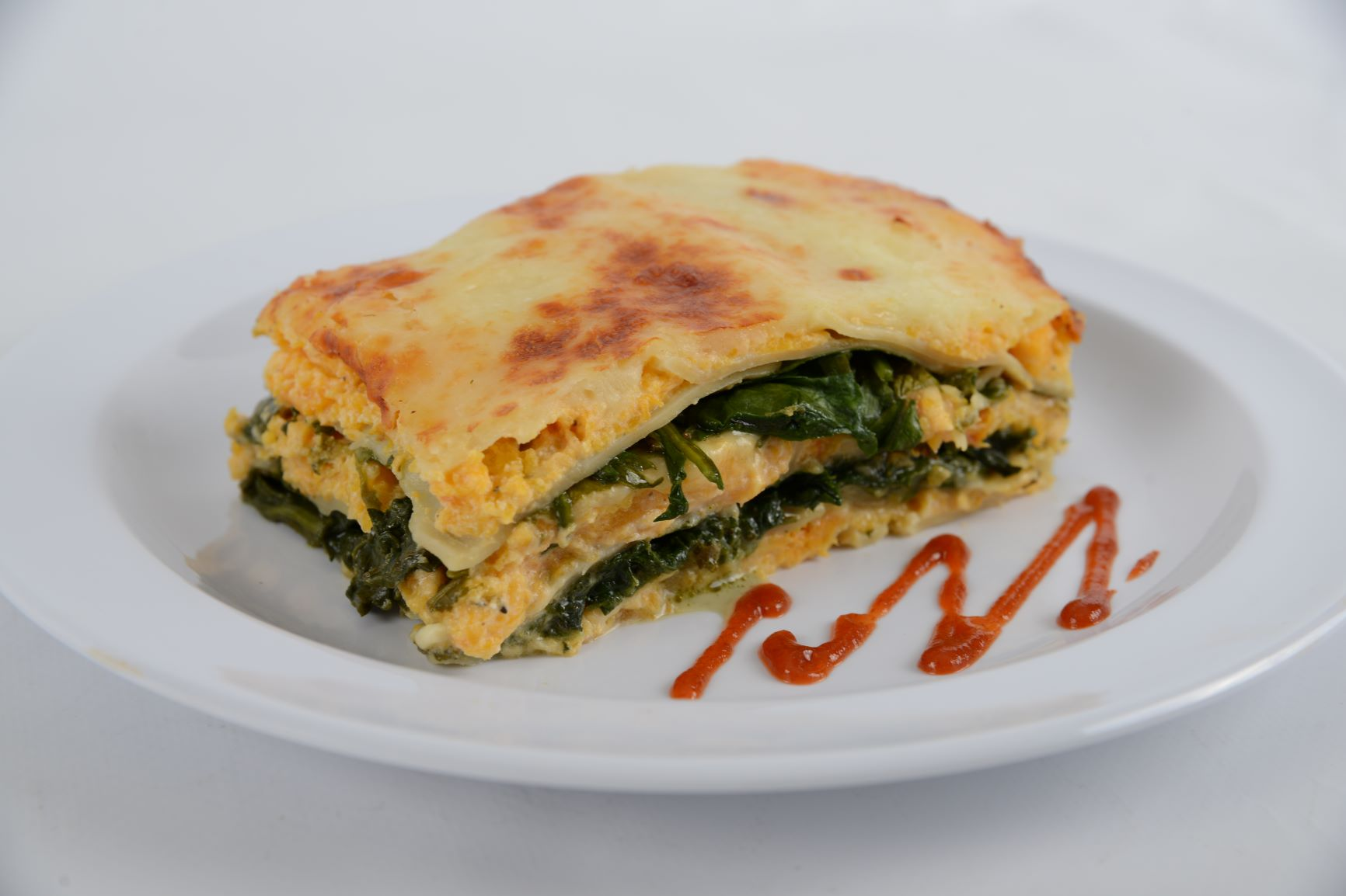 Roasted Butternut Squash & Spinach Lasagna (Monday 3/8 Delivery)