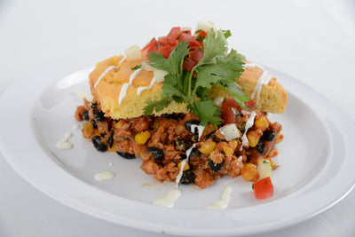 Ground Beef Tamale Pie