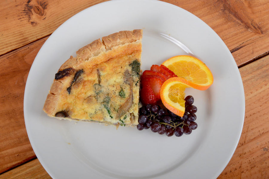 Gluten Free Vegetable Quiche