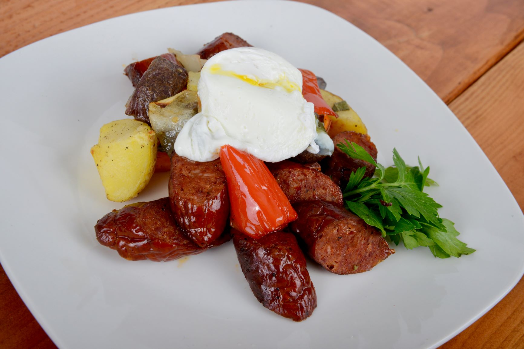 Chicken Sausage Hash