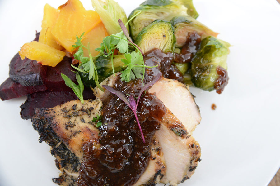 Chicken Breast with Fig Sauce