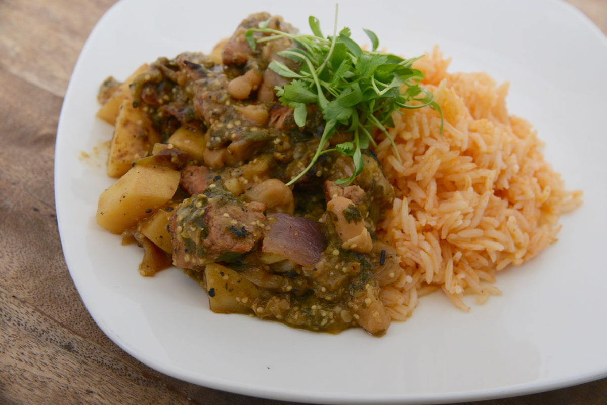 Pork Salsa Verde  (Monday 10/5 Delivery)