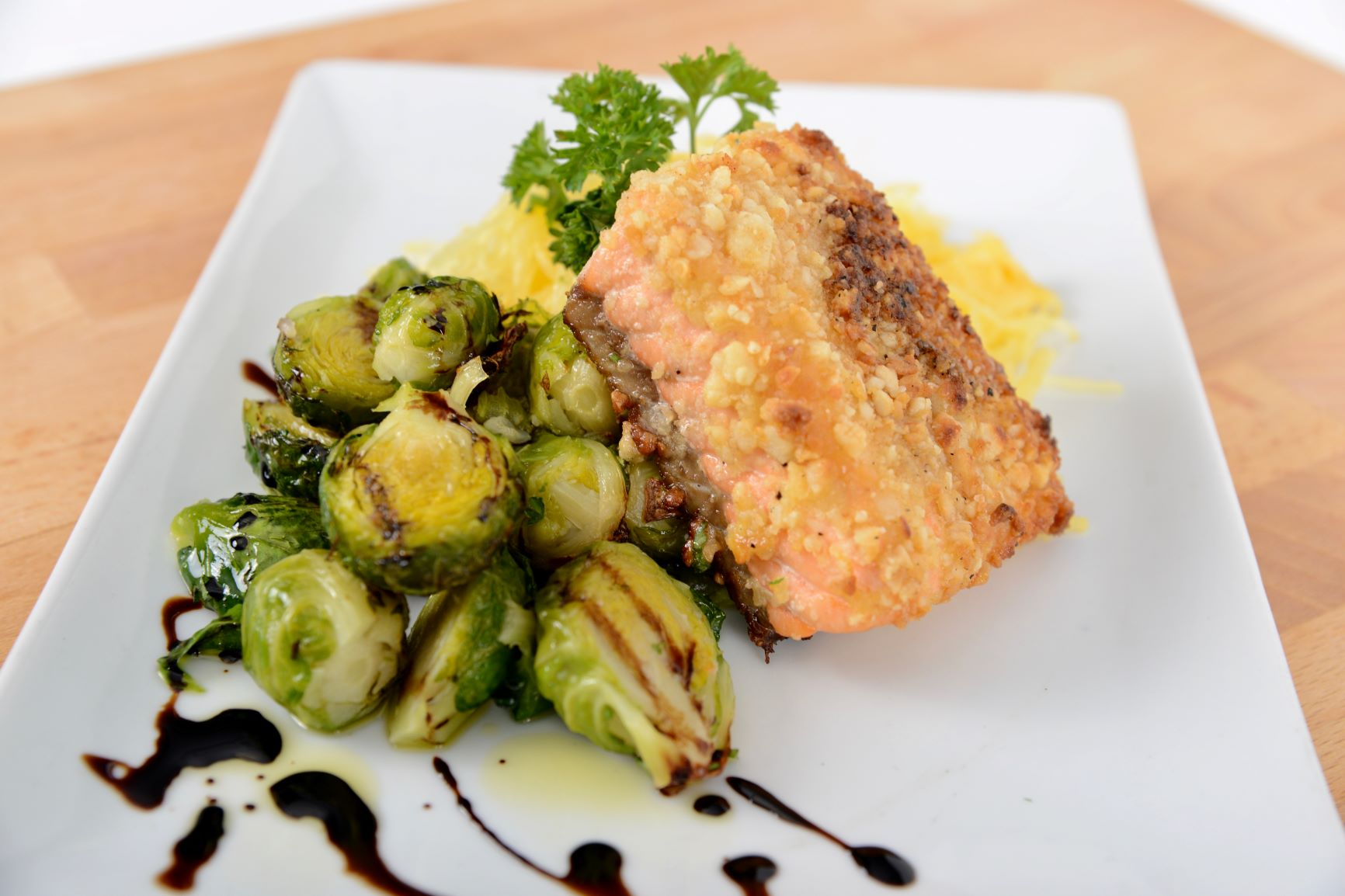 Macadamia Nut Crusted Wild Isles Salmon (Monday 4/6 Delivery)