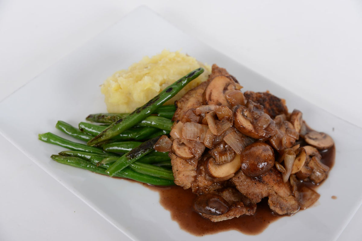 Pork Tenderloin Scallopini (Thursday 7/9 Delivery)