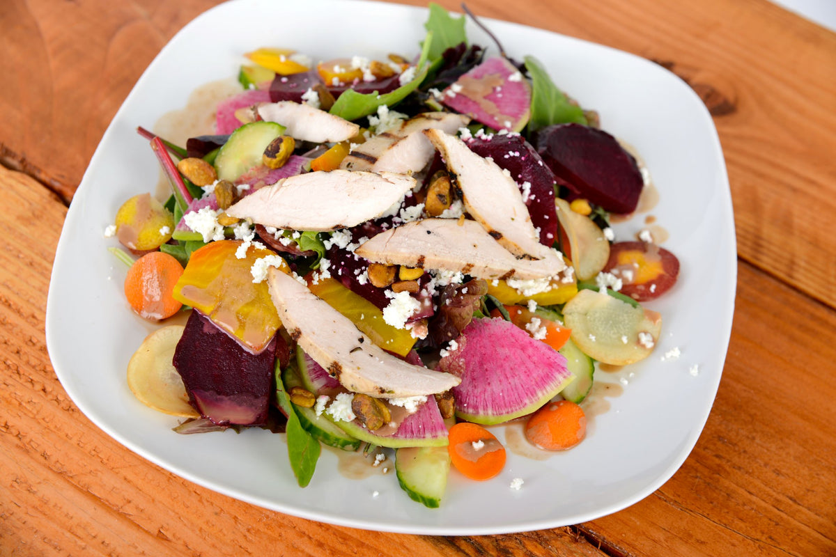 Beet Salad w/ Chicken Breast or Salmon
