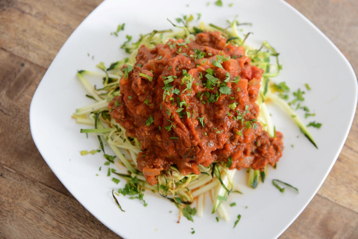 Grass Fed Beef Bolognese