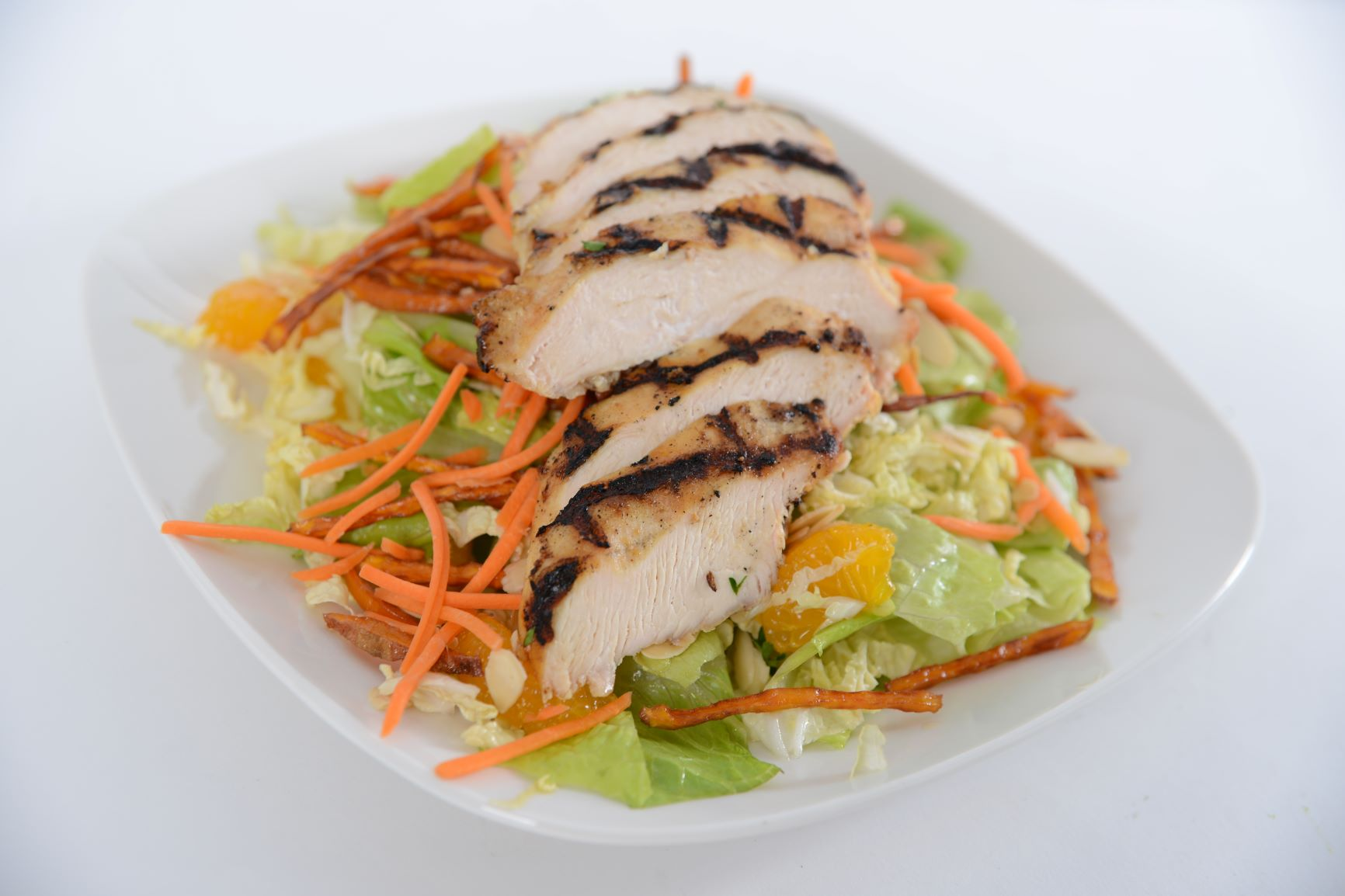 Mandarin Salad w/ Chicken Breast or Salmon