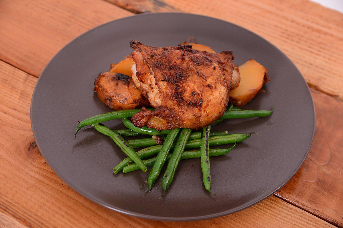 Mediterranean Rubbed Chicken Thigh