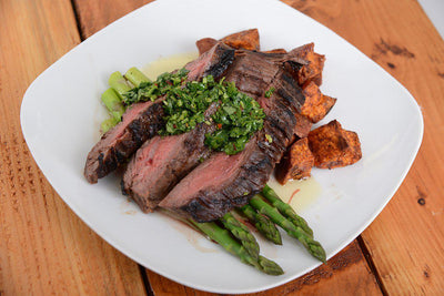 Grass Fed Chimichurri Steak