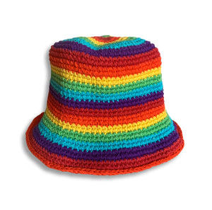 Nepal Rainbow Summer Hat