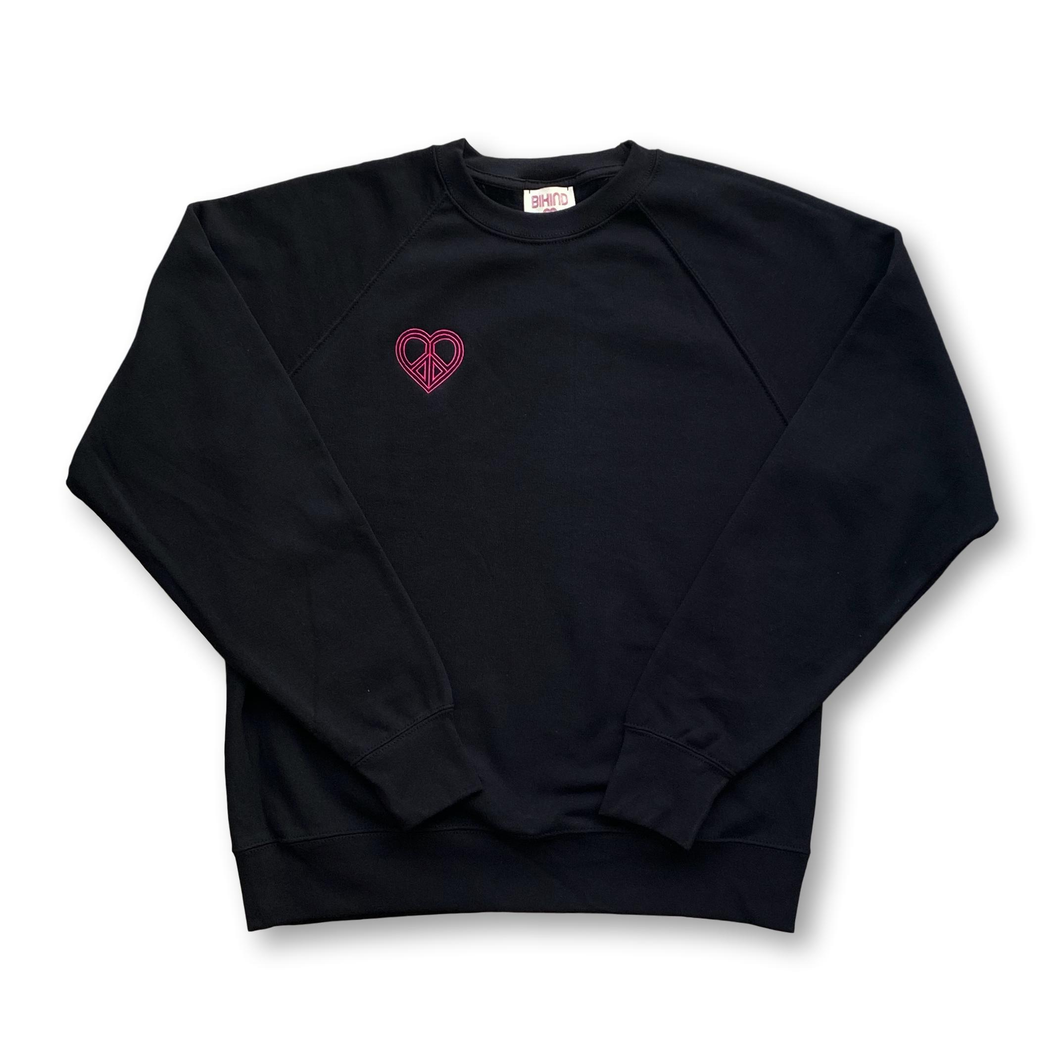 Embroidered Heart Sweat-Shirt