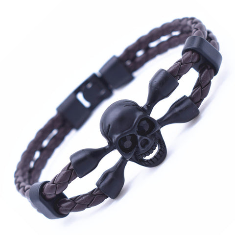 Black Friday Vintage Skull Bracelet - USA Fashions