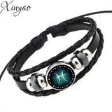 12 Constellation Bracelet for Men - USA Fashions