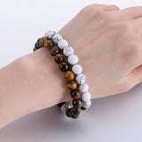 Natural Stone Fashion Distance Couple Bracelets - USA Fashions