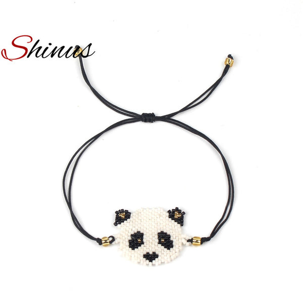 Shinus New kungfu Panda Woven Bracelet - USA Fashions