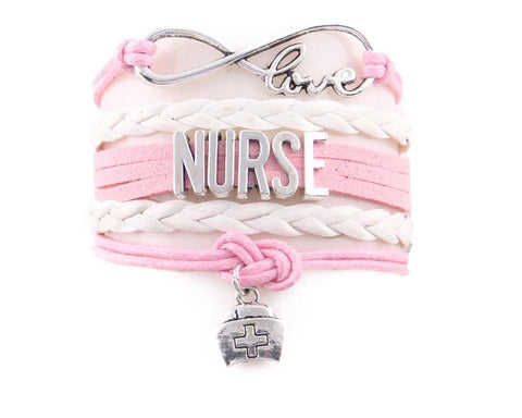 Little Minglou infinity love NURSE Bracele - USA Fashions