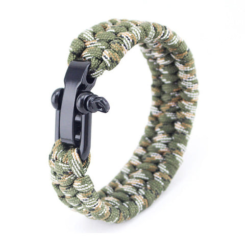 Outdoor Camping Equipment Bracelet - USA Fashions