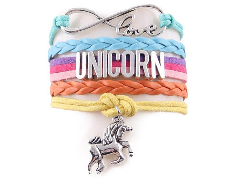 Infinity love Unicorn Bracelet - USA Fashions