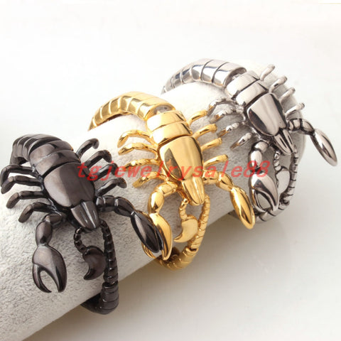 Stainless Steel Scorpion Bracelet - USA Fashions