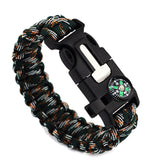 Para cord Outdoor Survival Bracelet - USA Fashions
