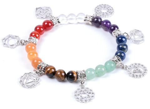 Prayer Natural Stone Yoga Bracelet - USA Fashions