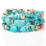 Bohemia Beach Style Multi Layers Bracelet - USA Fashions