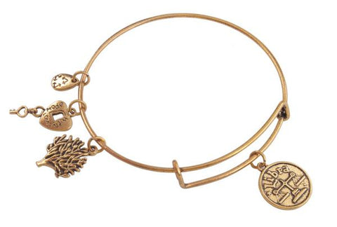 Antiqued Gold Zodiac Sign Bracelet - USA Fashions
