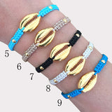 Gold Shell Bracelet - USA Fashions