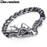 Davies lee Dragon Head Men's Bracelet - USA Fashions