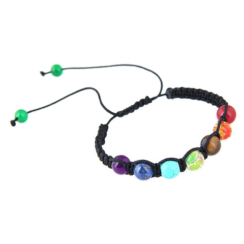 Adjustable spirtual chakra bracelet - USA Fashions