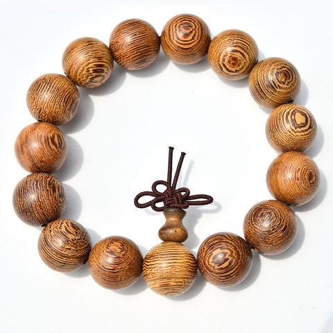 African wood beads bracelet - USA Fashions