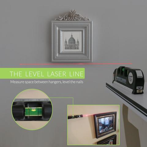 EasyLaser™ - Multipurpose Laser Level Measure
