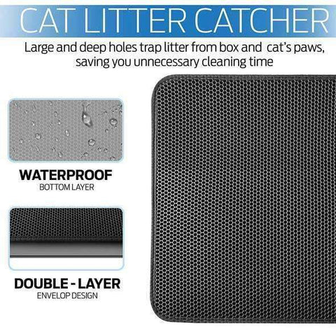 New Double Layer Larger Size Cat Litter Mat