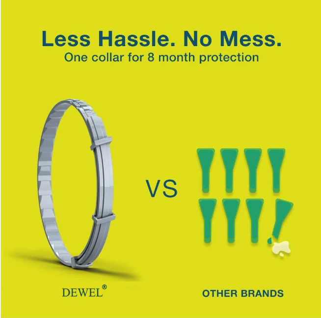 Dewel™ - Pro Guard Flea and Tick Collar