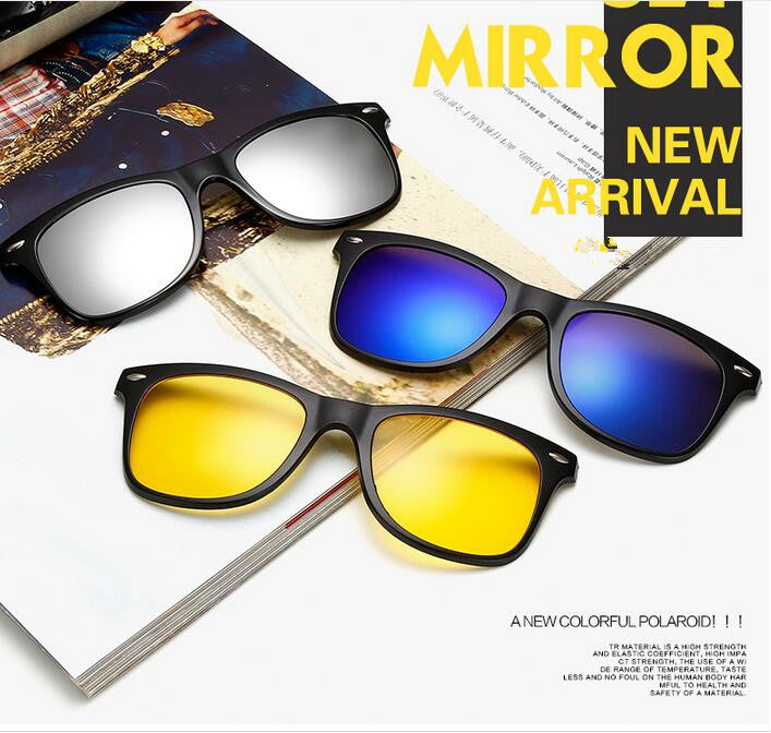 5 IN 1 MAGNETIC SWITCH SUNGLASSES
