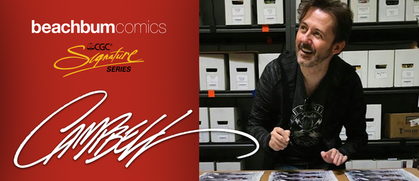 J. Scott Campbell August 2020 CGC SIGNING EVENT