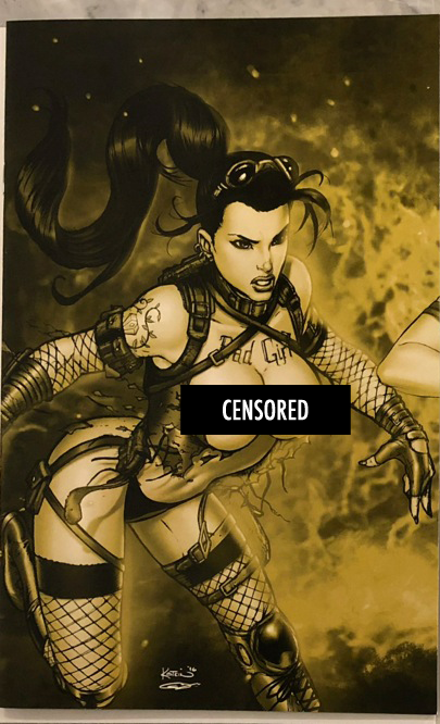 Notti & Nyce V2 #15 Kotkin/Mychaels/Shah Naughty GOLD Connecting Exclusive Set