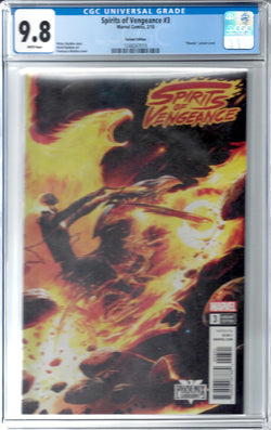 Spirits of Vengeance #3 Franchesco Mattina Variant CGC 9.8