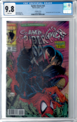 Spider-Gwen #25 Lenticular Cover Variant CGC 9.8