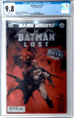 Batman: Lost #1 CGC 9.8
