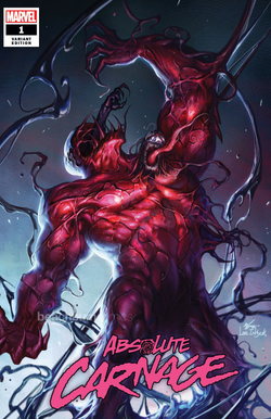 Absolute Carnage #1 InHyuk Lee Fan Expo Boston Exclusive