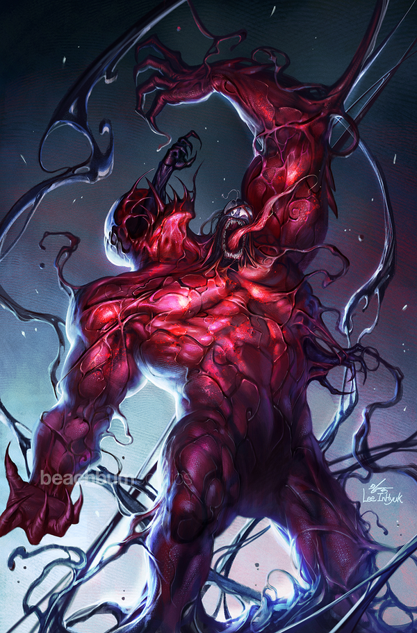 Absolute Carnage #1 InHyuk Lee Fan Expo Boston Virgin & Trade Dress Exclusive Set