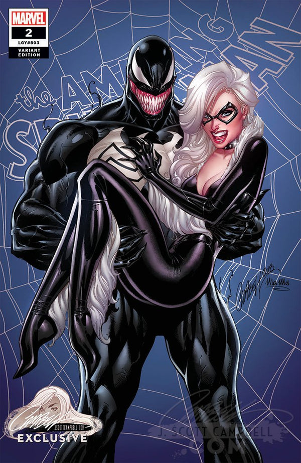 "Amazing Spider-Man #2 J. Scott Campbell Edition C ""Venom and Black Cat"" Exclusive"