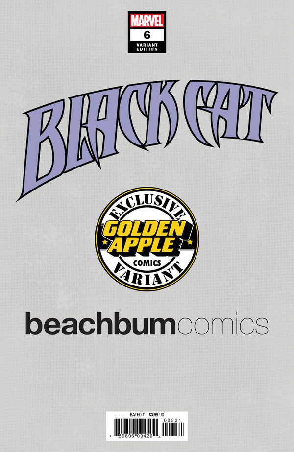 Black Cat #6 J. Scott Campbell BeachBum Comics Virgin Exclusive