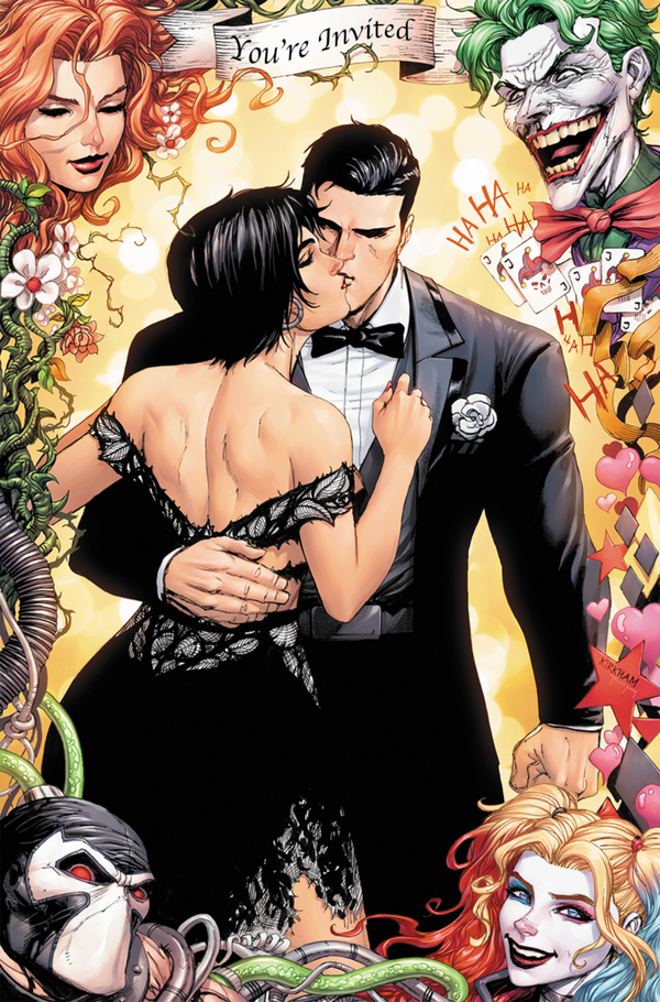 Batman #50 Tyler Kirkham Virgin Wedding Exclusive