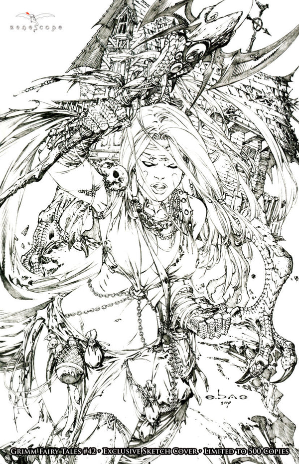 Grimm Fairy Tales #42 Sketch Exclusive