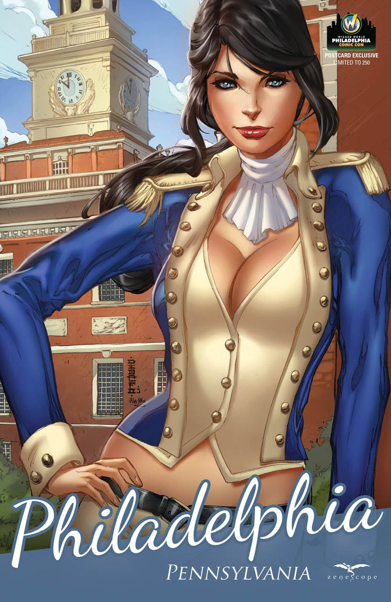 Grimm Fairy Tales V2 #6 WW Philly Postcard Exclusive