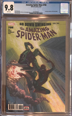 Amazing Spider-Man #798 CGC 9.8 - First appearance of the Red Goblin!